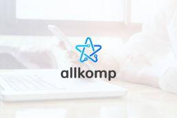 Portfolio johnny10 Allkomp logo