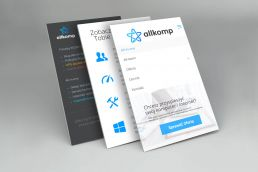 Portfolio johnny10 Allkomp responsive web design smartfon